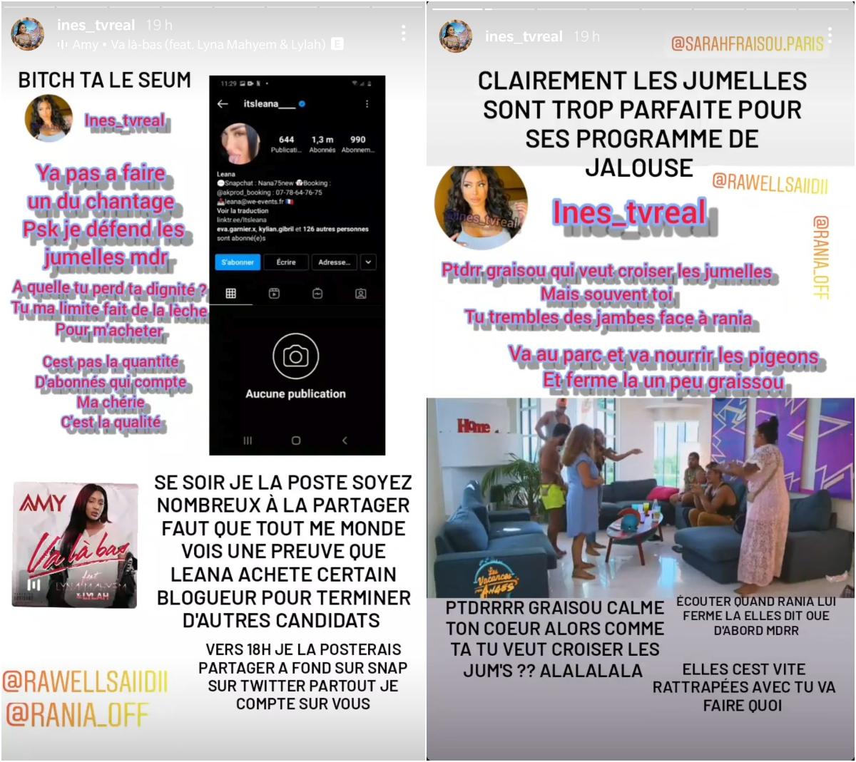 Léana Zaoui accusée d'acheter les blogueurs, elle réplique ! Rawell en rigole !