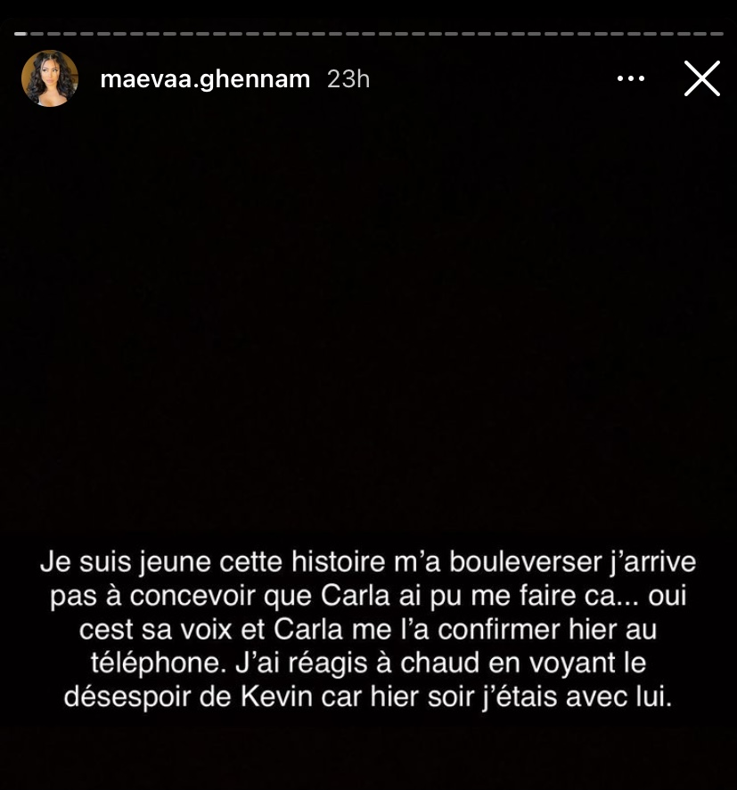 Maeva Ghennam: Victime de sorcellerie par Carla Moreau, elle perd 5 kilos en 4 jours!