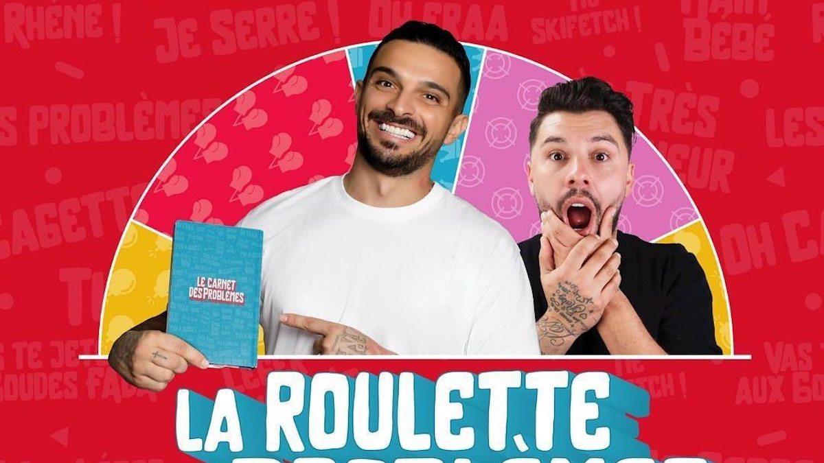 Julien Tanti et Kevin Guedj lancent leur jeu de société: La Roulette des Problèmes!