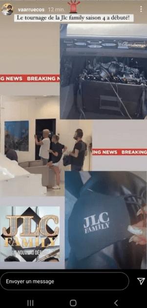 JLC Family saison 4 : Les premières images du tournage déjà dévoilées