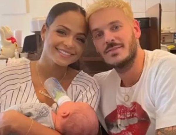 Matt Pokora : Christina Milian fête le premier mois de leur fils et poste un message qui interpelle
