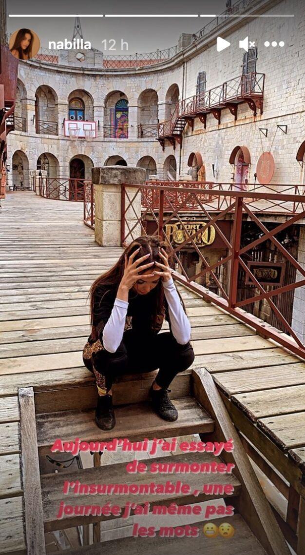 """Nabilla Benattia en plein tournage de Fort Boyard: """"J'ai essayé de surmonter l'insurmontable"""""""