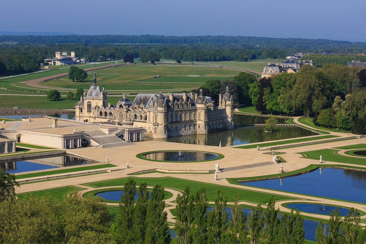 Le domaine de Chantilly, lieu où se déroulera le mariage de Nabilla et Thomas Vergara