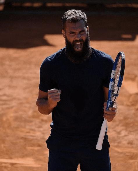 """Benoît Paire : Éliminé de Roland-Garros il admet pourtant avoir """"retrouvé la passion"""""""