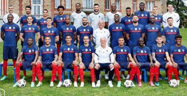 Euro 2020 : Quand les Bleus prennent la pose avec leurs enfants !