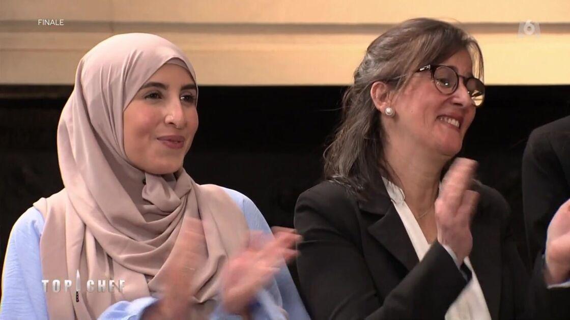 Sofia Cheikh et la mère de Mohamed Cheikh