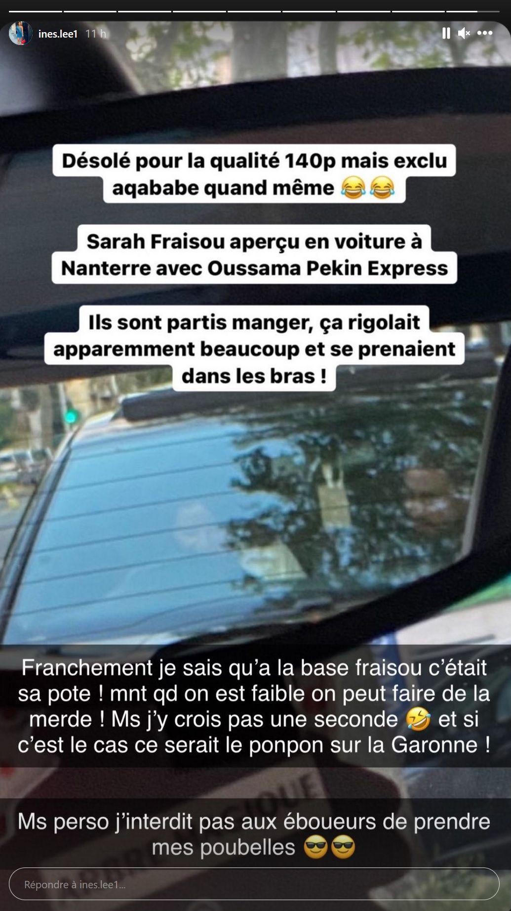 Sarah Fraisou en couple avec Oussama, l'ex de sa rivale ? Inès Lee réagit !