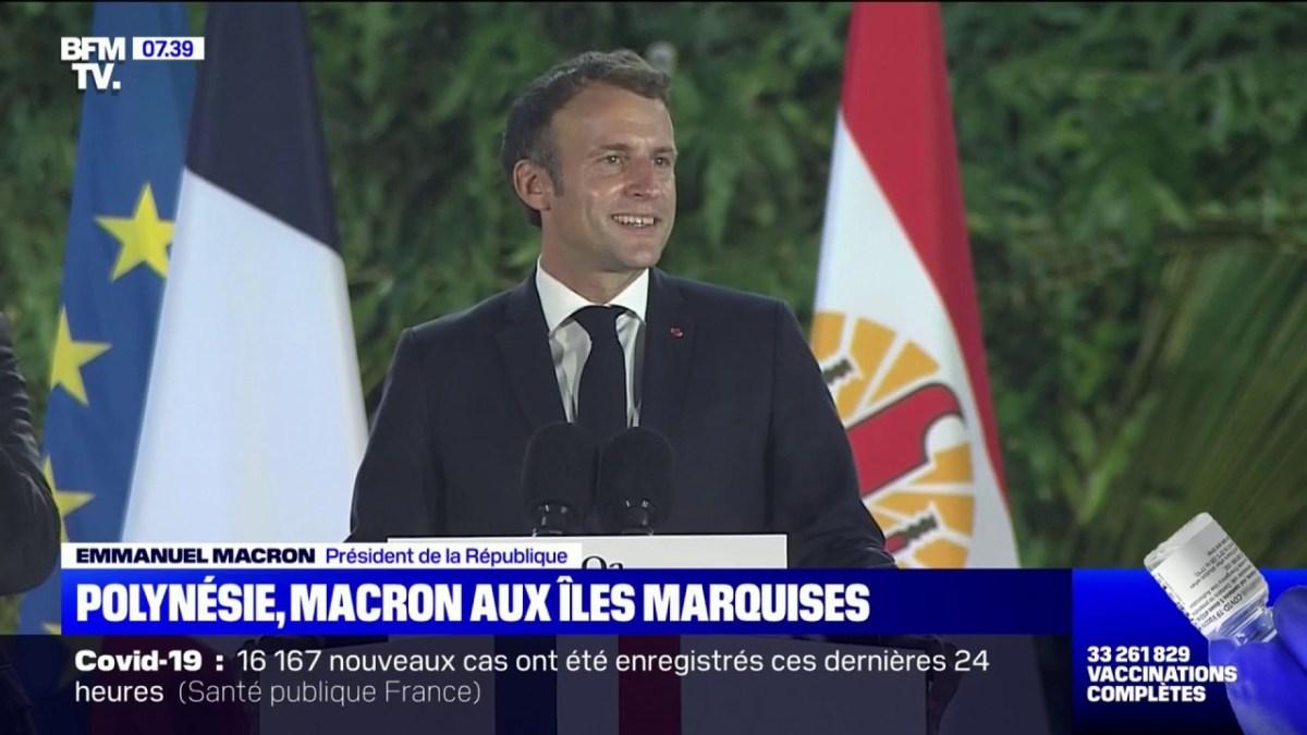 Emmanuel Macron en Polynésie : Cette blague osée qui ne devrait pas faire rire Brigitte Macron
