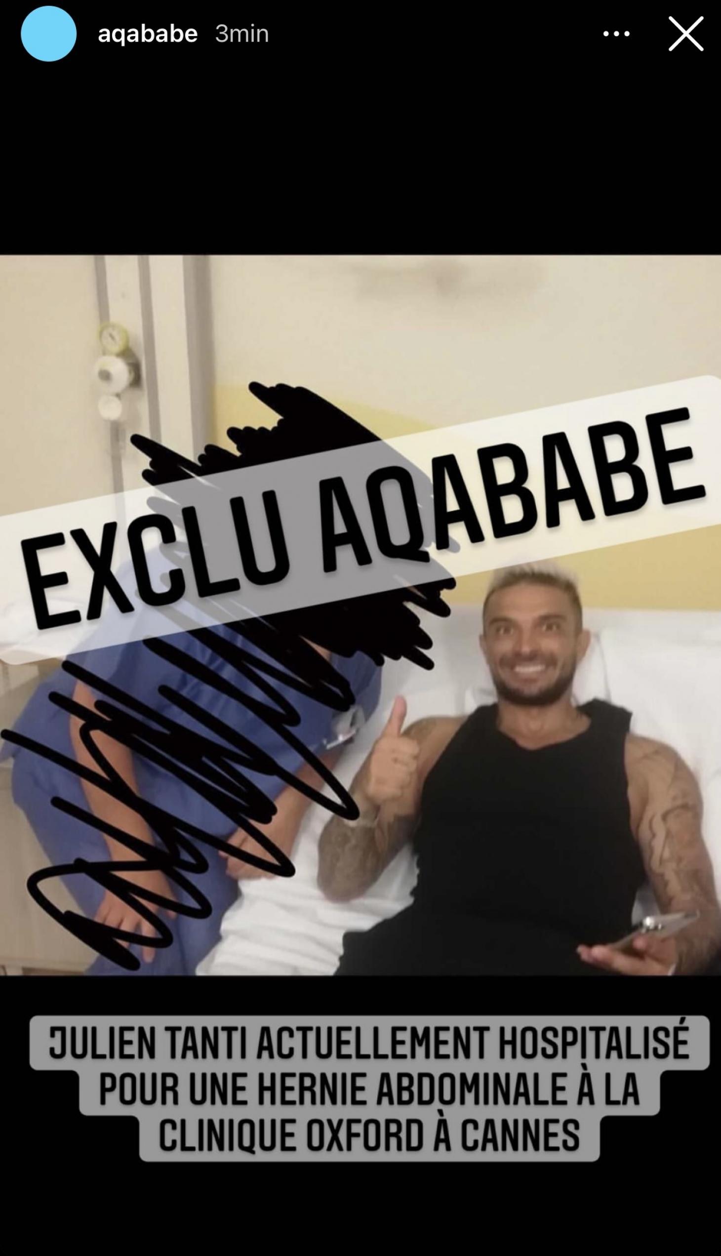 LMvMonde6: Julien Tanti blessé, il quitte le tournage et se rend à l'hôpital