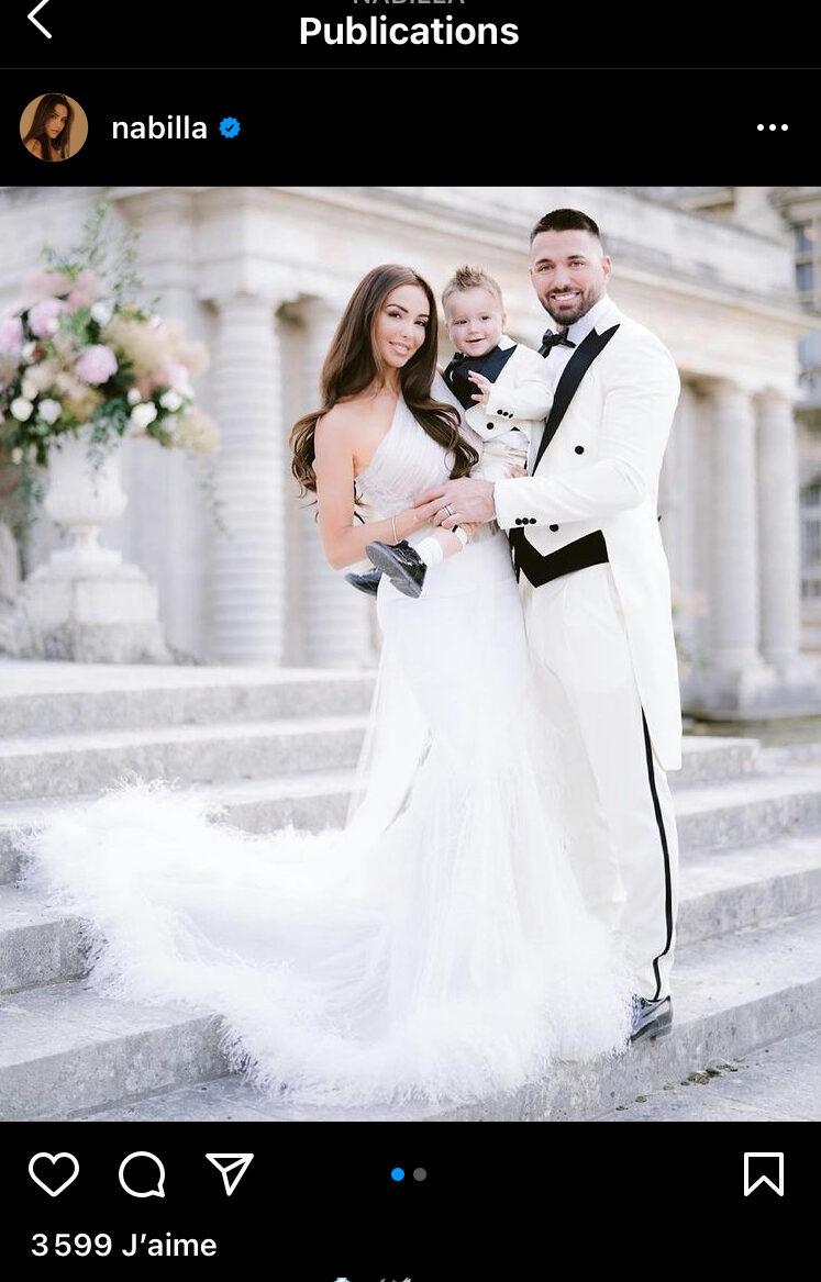 Nabilla gaffe : Elle publie par erreur des photos de son mariage !