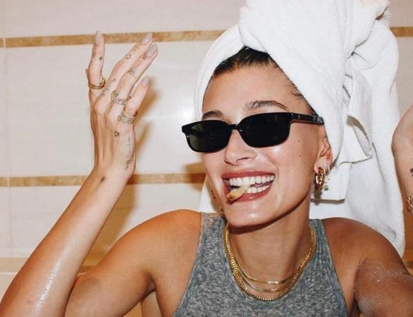 Hailey Bieber : Sa routine beauté sensuelle fait sensation sur la toile !