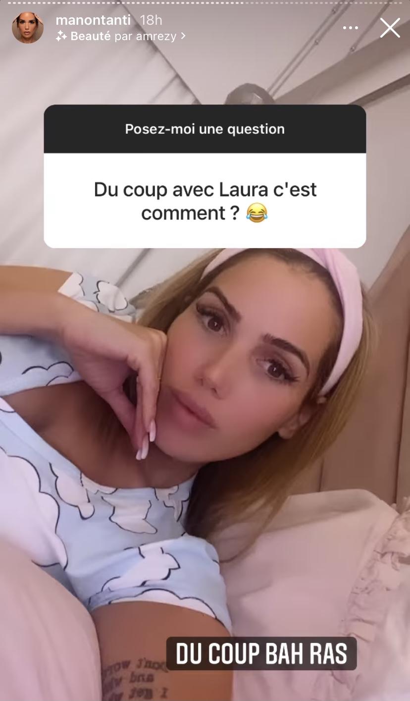 Laura Lempika et Manon Marsault en guerre? Elles s'envoient des piques sur la toile!
