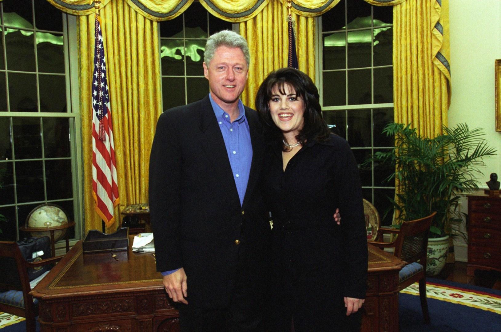 Le jour où Monica Lewinsky a voté pour Hillary Clinton aux élections présidentielles
