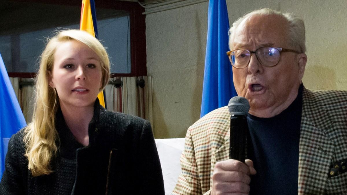 Marion Maréchal «fulmine» : Jean-Marie Le Pen lui a volé le jour de son mariage !