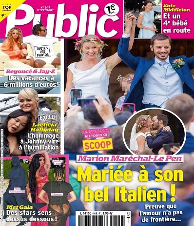 """Marion Maréchal """"fulmine"""" : Jean-Marie Le Pen lui a volé le jour de son mariage !"""