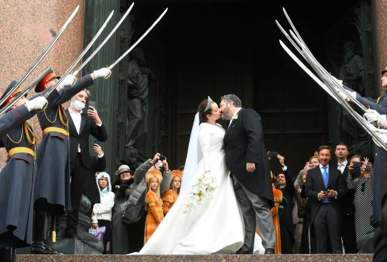 Mariage du grand-duc George Mikhailovich et Rebecca Victoria Bettarini