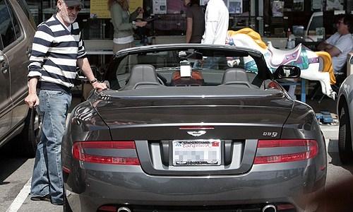 Steven Spielberg Aston Martin DB9
