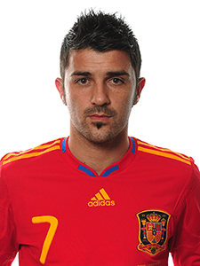 David Villa Height, Weight, Body stats, Wiki