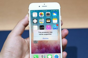 iPhone Accessory may not be supported