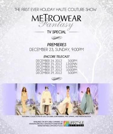 Metrowear Fantasy TV Special (1)