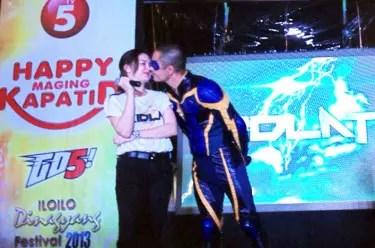 Derek Nadine Kissing