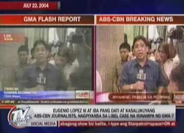 A-TV-Patrol-report-last-Feb-18-showing-ABS-CBN-reporter-Dindo-Amparo-appearing-on-both-ABS-CBN-Breaking-News-and-GMA-Flash-Reports-coverage-of-Angelo-dela-Cruz-arrival-in-2004