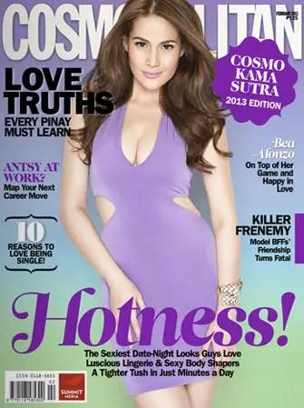 Cosmopolitan February 2013 Bea