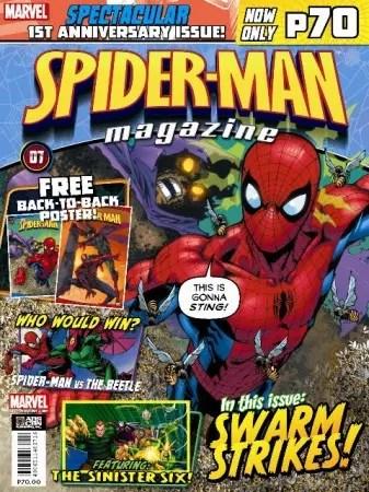 SpiderMan Magazine Cover