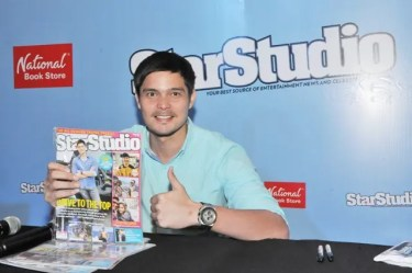 Dingdong Dantes gives a thumbs up for one of his best features yet