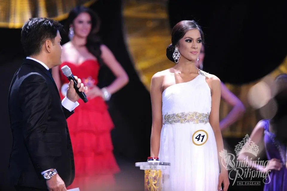 Binibining Pilipinas 2013 Question and Answer  Video    Starmometer AriellaQnA