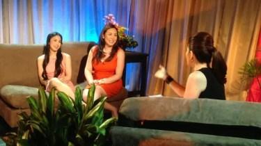 Carmina Villaroel interviews Marjorie and Julia Barretto