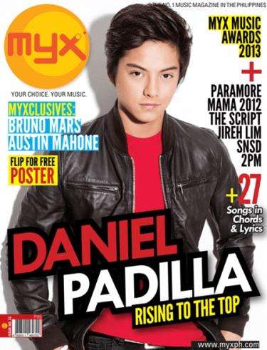 Daniel Padilla MYX
