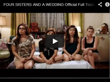 Four Sisters and a Wedding Full Trailer