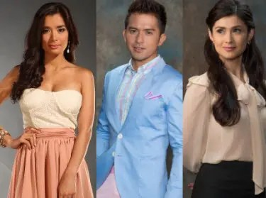 Dennis Trillo, Carla Abellana and Michelle Madrigal Attend