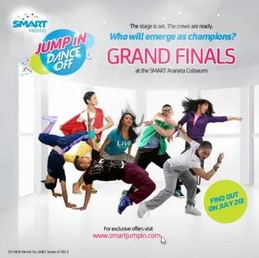 Dance Off Grand Finals July 15