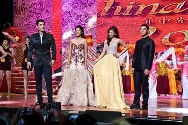 Mr. and Miss Chinatown Philippines Hosts Xian Lim, Gretchen Ho, Alex Gonzaga and Enchong Dee