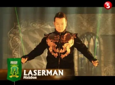 Laserman from Malabon