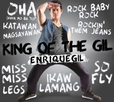 Enrique Gil_'King of the GIL' album cover