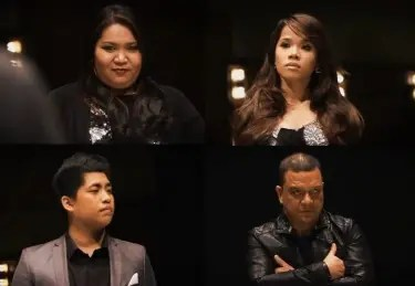 THE VOICE OF THE PHILIPPINES FINAL SHOWDOWN---Janice, Klarisse, Myk, Mitoy
