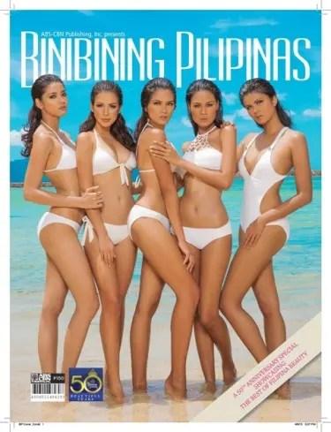 Binibing Pilipinas Magazine cover