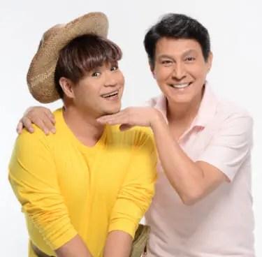 Joey Paras and Tirso Cruz III