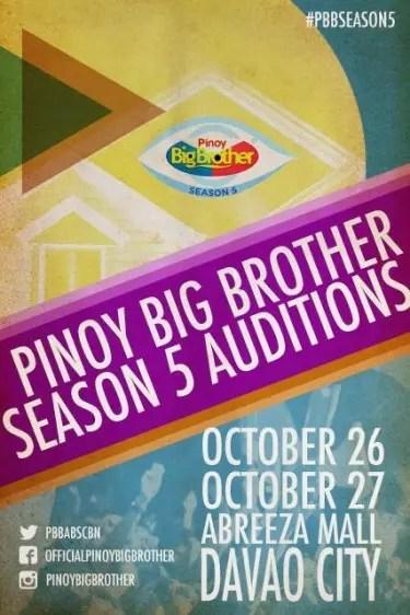 PBB 5 auditions