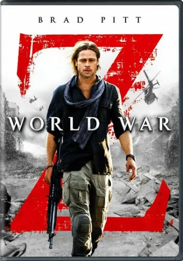 """World War Z"" DVD"