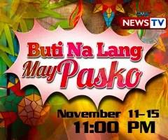 Buti Na Lang May Pasko (medallion)