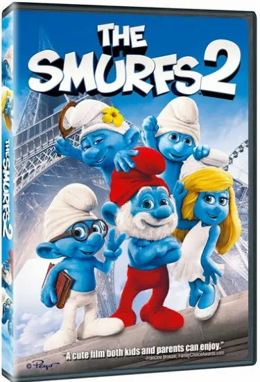 """The Smurfs 2"" DVD"