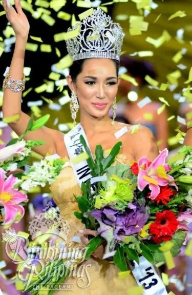 Bea Rose Santiago Miss International Philippines 2013 Crowned. Photo Credit: Bb. Pilipinas