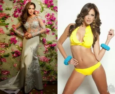 After the success of Venezuela in the Miss Universe and Mister International  pageants early this year, another beauty from that country won Miss Earth.  Twenty-two year old Alyz Henrich is Venezuela's second Miss Earth who was crowned moments ago at the Versailles Palace in Muntinlupa City.  Photos by Missossology.