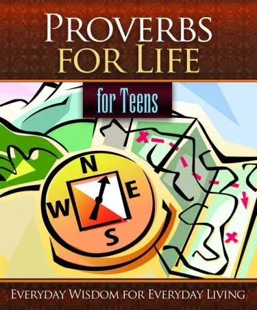 Proverbs for Life for Teens Cover