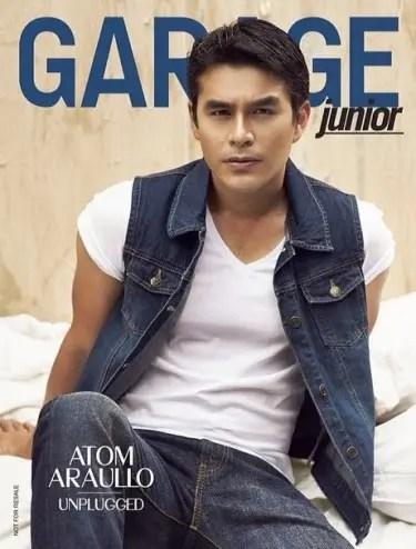 Atom Araullo GARAGE Magazine