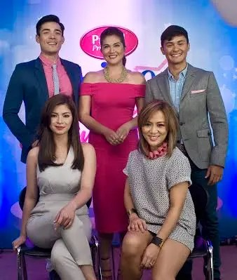 Angel Locsin Joins Xian, Matteo, Georgelle and Dimples in i-Shine 3